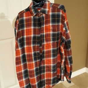 Childrens place flannel top
